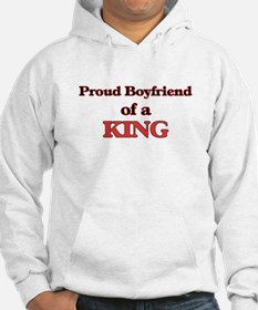 Proud Boyfriend of a King Hoodie