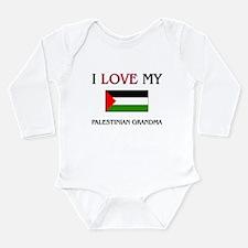 Funny Love foods Long Sleeve Infant Bodysuit