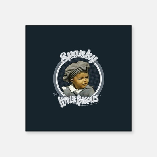 """The Little Rascals: Spanky Square Sticker 3"""" x 3"""""""
