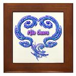 Mio Cuore White Framed Art Tile