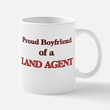 Proud Boyfriend of a Land Agent Mugs