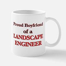 Proud Boyfriend of a Landscape Engineer Mugs