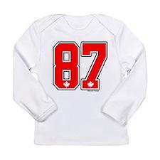 Hockey canada Long Sleeve Infant T-Shirt