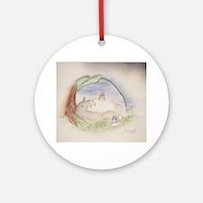 Unique Ghibli Round Ornament