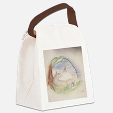 Cute Studio Canvas Lunch Bag