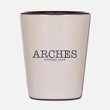 Arches Natioal Park ANP Shot Glass