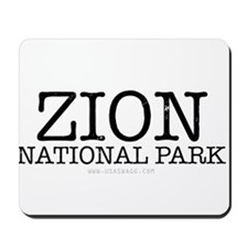 Zion National Park ZNP Mousepad