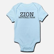 Zion National Park ZNP Infant Bodysuit
