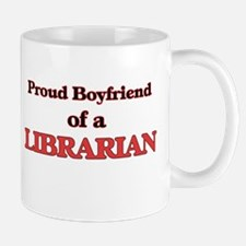 Proud Boyfriend of a Librarian Mugs
