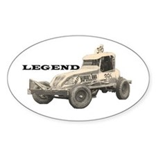"Doug Cronshaw ""LEGEND"" Oval Decal"
