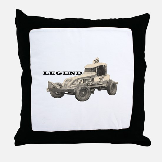 "Doug Cronshaw ""LEGEND"" Throw Pillow"