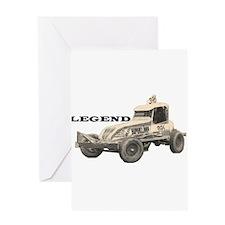 "Doug Cronshaw ""LEGEND"" Greeting Card"