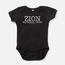 Zion National Park ZNP Baby Bodysuit