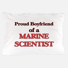 Proud Boyfriend of a Marine Scientist Pillow Case