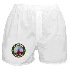Illinois Free Mason Boxer Shorts