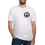 Illinois Free Mason Fitted T-Shirt
