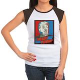 Anti trump Women's Cap Sleeve T-Shirt