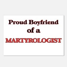 Proud Boyfriend of a Mart Postcards (Package of 8)