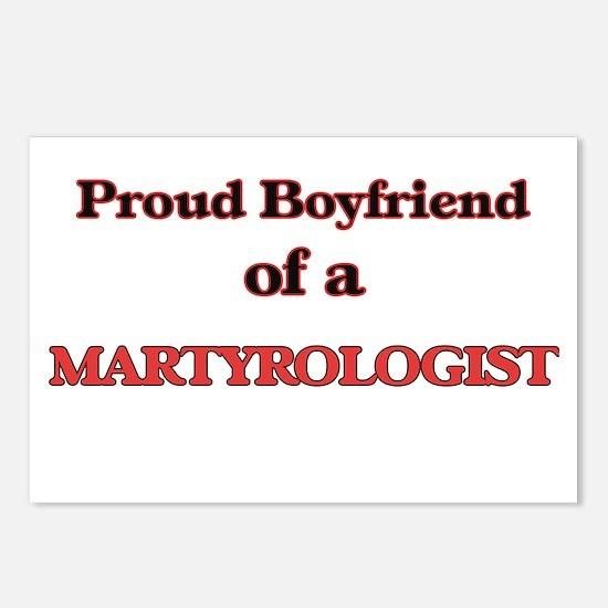 Proud Boyfriend of a Mart Postcards (Package of 8)
