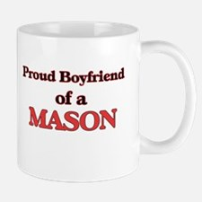 Proud Boyfriend of a Mason Mugs