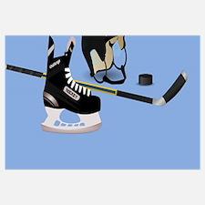 Skater hockey Wall Art
