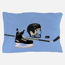 Hockey elements Pillow Case