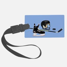 Hockey elements Luggage Tag