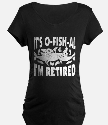 Retirement Maternity T-Shirt