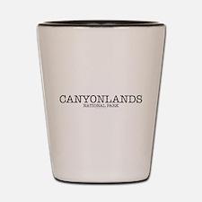 Canyonlands National Park ZNP Shot Glass