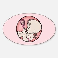 Future Lacrosse Star Decal
