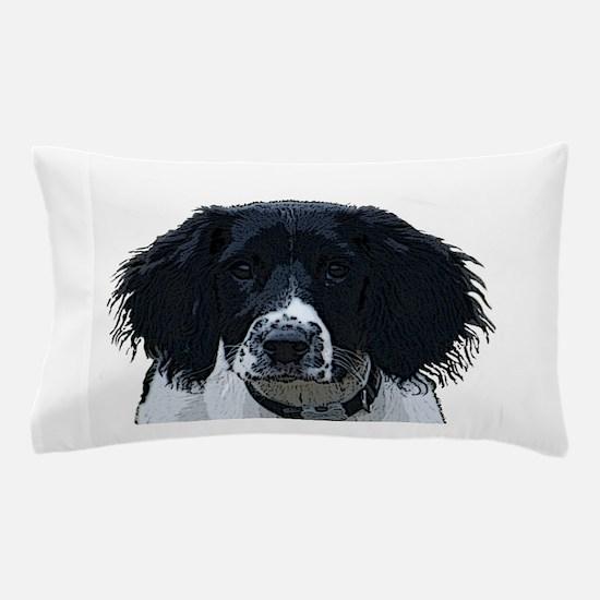 Cute English springer spaniel Pillow Case