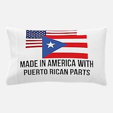 Puerto Rican Parts Pillow Case