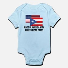 Puerto Rican Parts Body Suit