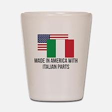 Italian Parts Shot Glass