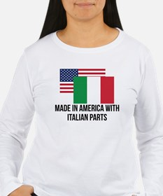 Italian Parts Long Sleeve T-Shirt