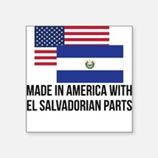 El Salvadorian Parts Sticker