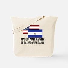 El Salvadorian Parts Tote Bag
