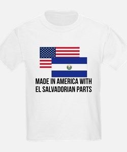 El Salvadorian Parts T-Shirt