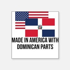 Dominican Parts Sticker