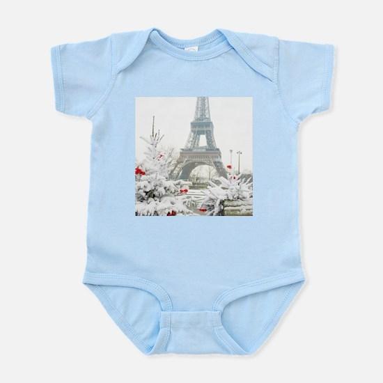 Winter in Paris Body Suit