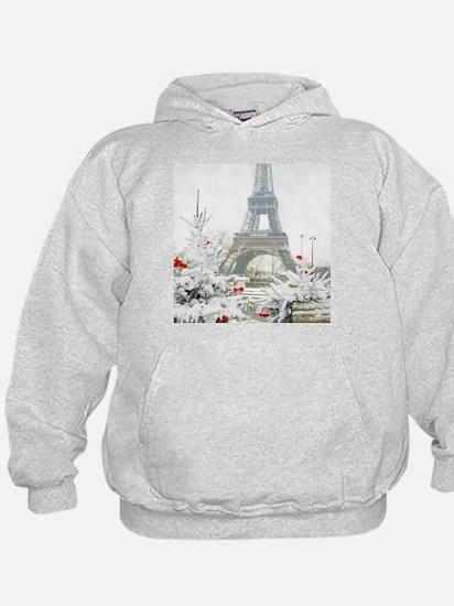 Winter in Paris Hoodie