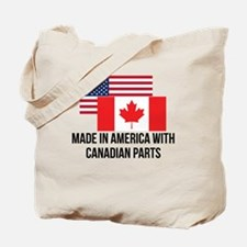 Canadian Parts Tote Bag