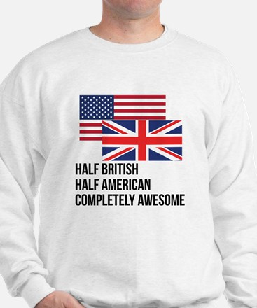 Half British Completely Awesome Jumper