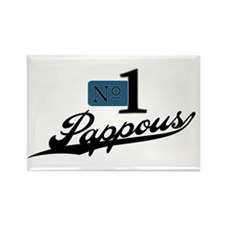 Number One Pappous Rectangle Magnet (10 pack)