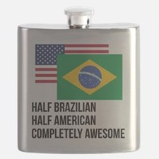 Half Brazilian Completely Awesome Flask