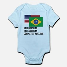 Half Brazilian Completely Awesome Body Suit