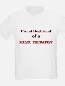 Proud Boyfriend of a Music Therapist T-Shirt