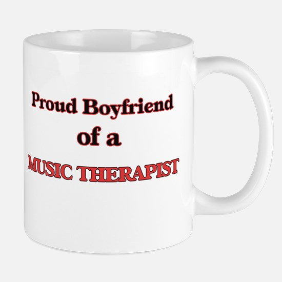 Proud Boyfriend of a Music Therapist Mugs