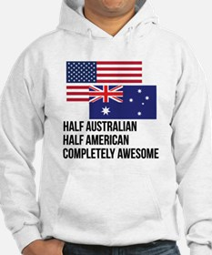 Half Australian Completely Awesome Hoodie