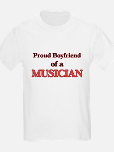 Proud Boyfriend of a Musician T-Shirt